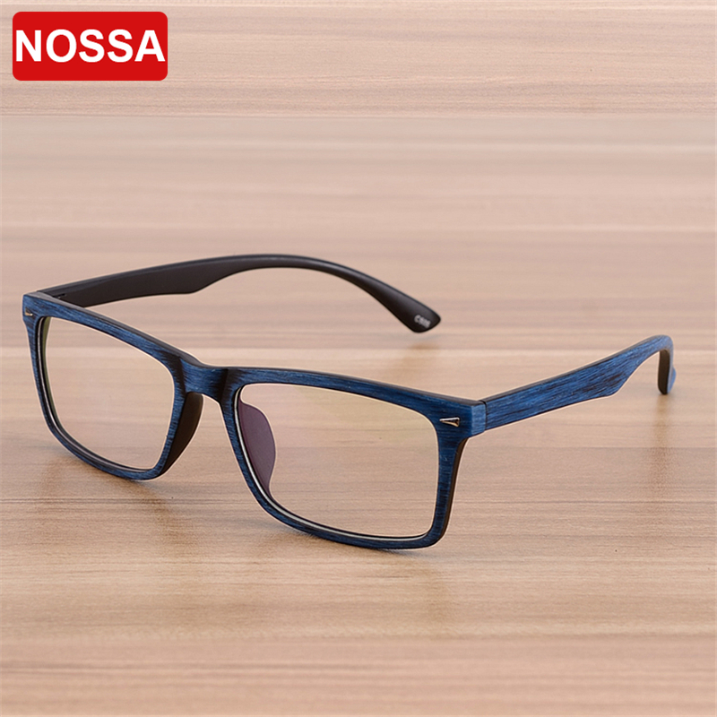 NOSSA Märke Vintage Prescription Glasögon Ram Män Optiska Glasögon Ram Kvinnor Mode Myopi Eyeglasses Frame Student Spectacle