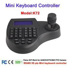 Controlador de teclado CCTV 3D Mini RS 485, Joystick