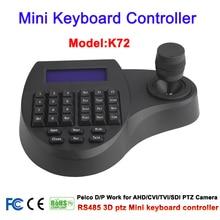 Mini RS 485 3D CCTV Klavye Denetleyici Joystick