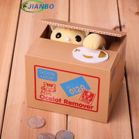 Creative Steal Money Cat Piggy Bank Money To Eat Japanese Lucky Cat Piggy Bank Children S