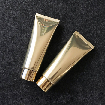 Bright Gold 30pcs/lot 100g Empty Hand Cream Hose Aluminum Plastic Tube, BB Cream Soft Container, Cosmetic packing tube