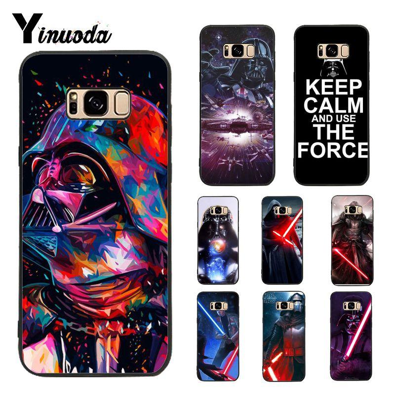 100% Kwaliteit Yinuoda Case Voor Galaxy S9 Star Wars De Kracht Wekt Darth Vader Diy Afdrukken Telefoon Geval Voor Samsung Galaxy S4 S5 S6 S7 S8 S9