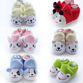 12 PCS/LOT,6 design hot sale high quality Toddler Soft Sole baby shoes girls boy animal prints,cute baby First Walkers size 11cm