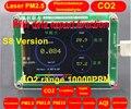 Экспорт данных S8 M5S CO2 Датчик формальдегида PM2.5 детектор PM2.5 пыль дымка лазерный датчик с температурой и влажностью TFT LCD