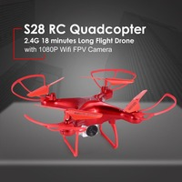 S28 Drone with WiFi Camera 0.3 MP Real time Transmit FPV Quadcopter Quadrocopter HD Camera Dron 4CH RC Helicopter