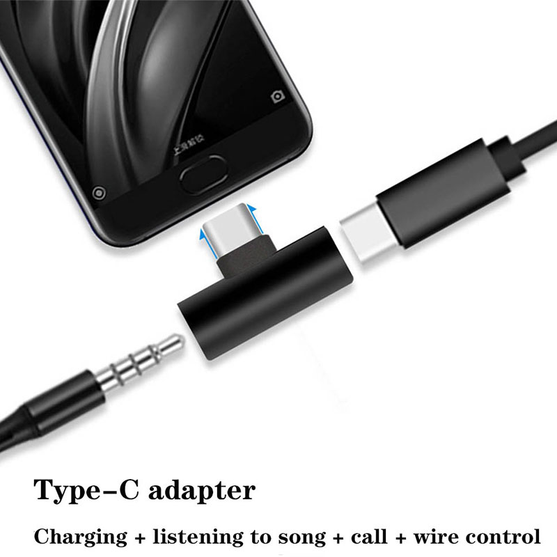 For Xiaomi Mi 8 Lite Mi8 Aux Audio Cable Headphone Charger Charging USB-C Conve NEW USB Type C To 3.5mm Earphone Jack Adapter