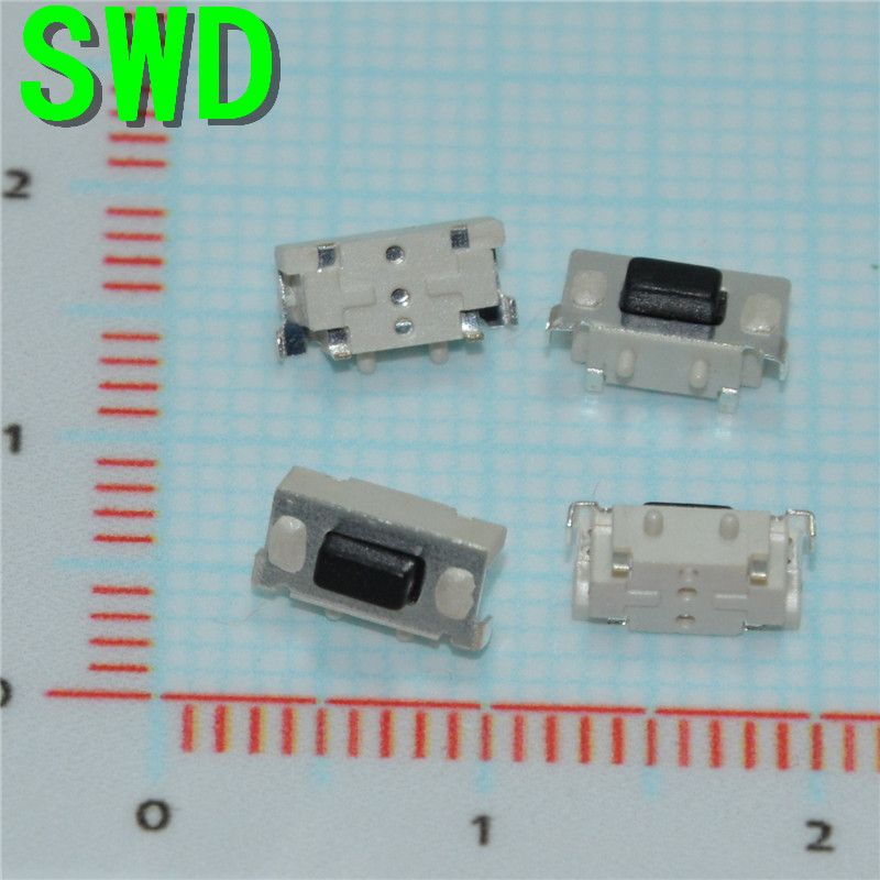 10pcs DC12V Tactile Tact Push Button Momentary SMD Surface Mount Micro Switch 3x6x3.5mm For mp3 mp4  #DSC0039 3 4mm micro switch smd 4pin new switch button key for mobile phone3x4 machine dsc0039