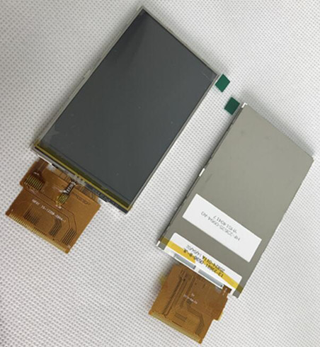 3,5 дюймовый TFT жк-экран с сенсорной панелью ST7793 привод IC 8Bit MCU интерфейс 240*400
