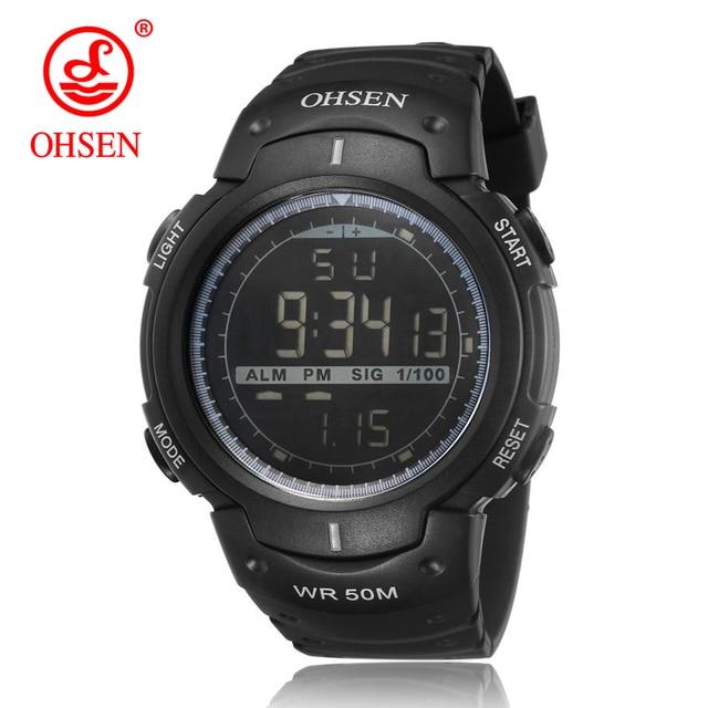 Relojes estilo militar y deportivo Ohsen para hombres 232c65798328
