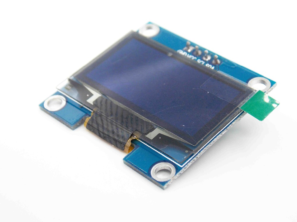 <font><b>1.3</b></font> <font><b>inch</b></font> <font><b>oled</b></font> white display with 4PIN 4-SPI(default)/I2C Drive IC SH1106 image