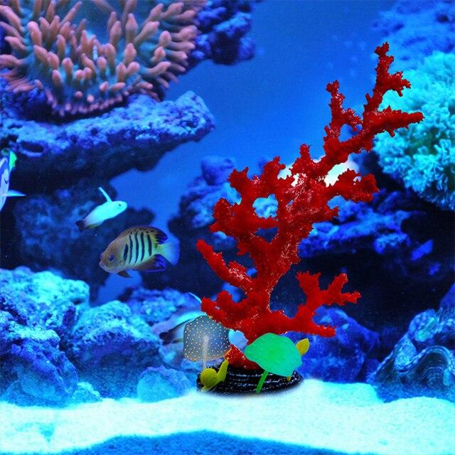 simulation silikagel korallen aquarium bunte k nstliche silikon ornamente. Black Bedroom Furniture Sets. Home Design Ideas
