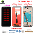 for Huawei Nova 2i LCD Display+Touch Screen 2160X1080 FHD with Tools Glass Panel Phone Accessories For Huawei Nova 2i 5.9inch