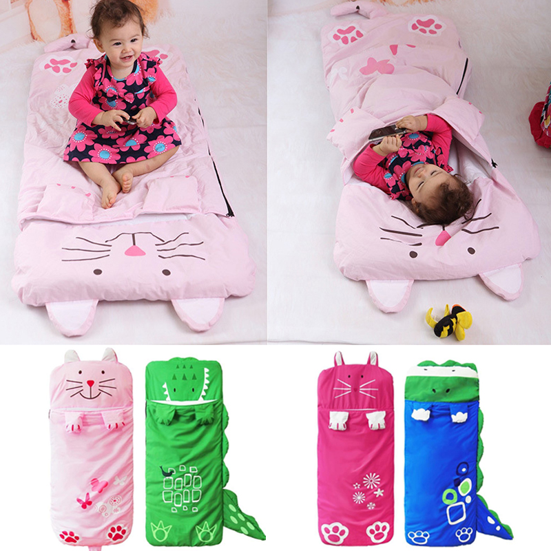 Sleeping Bags Newborn Bed Wrap Cute Baby Thick Warm Sacks Bedding Baby Kids Sack Infant Toddler Winter Cartoon Animals Sleep Bag