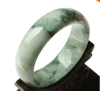 bracelets product grade jadeite texture women bracelet bangles jewelry genuine snow round indian with jade dark green a