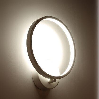 купить Simple Modern Creative Acrylic LED Wall Light Fixtures For Indoor Lighting Fashion Wall Sconces Bedside wall Lamps Lampara Pared недорого