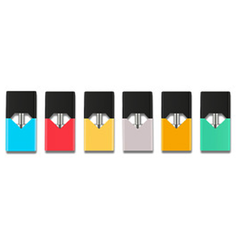 4pcs CYAN Vape Pods with 0.7ml Capacity Cartridge Pod 1.4ohm Coil Resistance Refillable Pod for e-Cigarettes Vape Device Pen