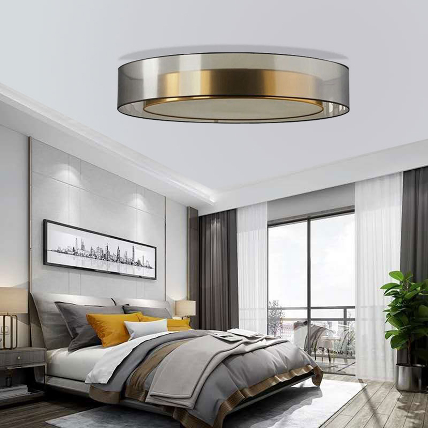 Modern Ceiling Light Loft Decor Living Room Lights Glass Lampshade Kitchen Fixtures LED Ceiling Lamps Hanging Ceiling Luminaire