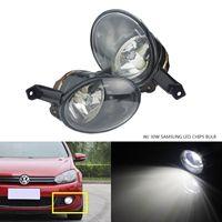 ANGRONG 2 x30W SAMSUNG LED Bulbs Front Fog light Lamp L&R For VW Golf MK6 EOS Caddy Tiguan Jetta BEETLE TOURAN