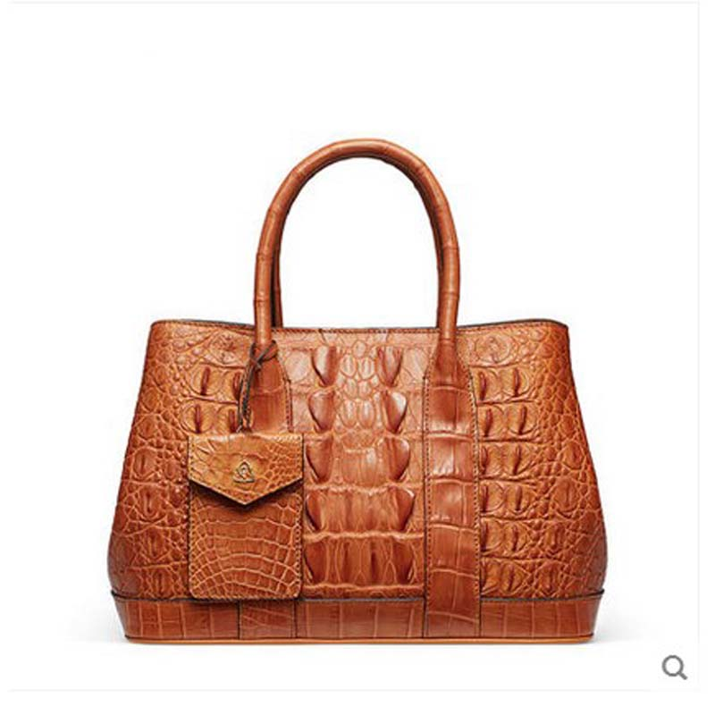 2018 gete New alligator bag crocodile women handbag Thai leather Large capacity killer bag fashion lady Bag