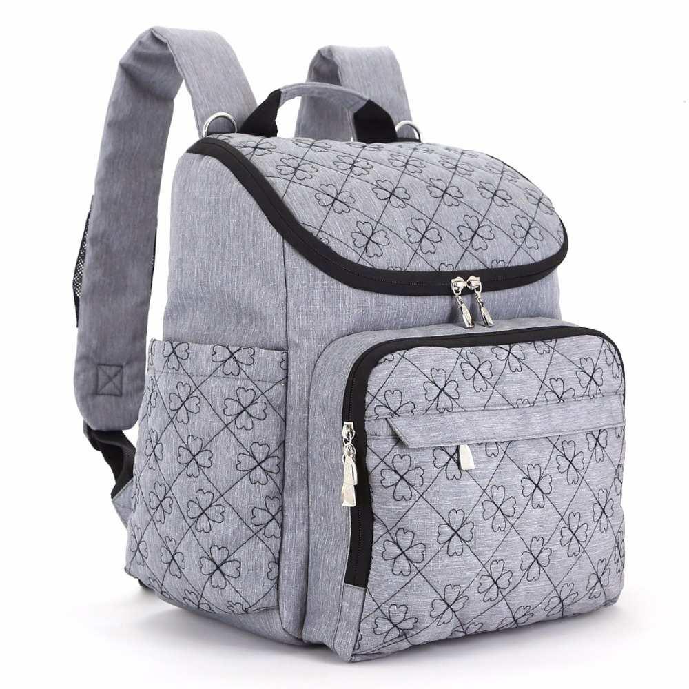 Сумка для подгузников, модная сумка для подгузников для мам, сумка для подгузников, брендовый Детский рюкзак для путешествий, органайзер дл...