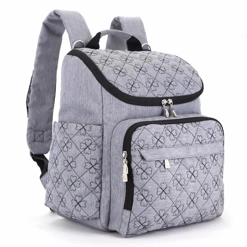 Diaper Bag Fashion Mummy Maternity Nappy Bag Brand Baby Travel Backpack Diaper Organizer Nursing Bag For Baby Stroller все цены