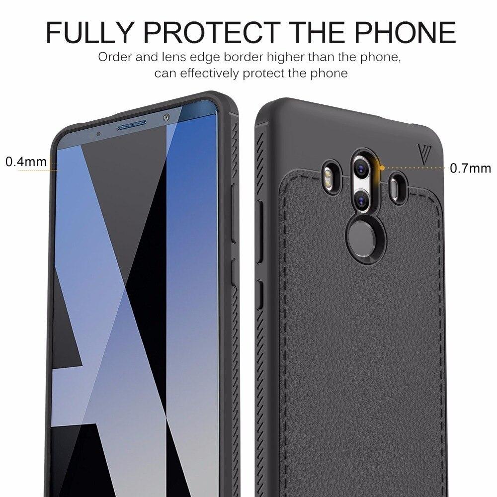 Lenuo Case Huawei Mate 10 Pro Cover Soft TPU Silicone Back Cover Huawei Mate 10 Pro Case/Huawei Mate 10 Lite Funda