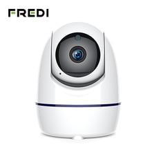 FREDI 1080P IP Camera Auto Tracking Of Human Wireless WiFi Home Security Camera Pan/Tilt Night Vision Surveillance CCTV Camera