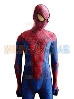 The Amazing Spiderman Costume 2015 3D Printing Amazing Spiderman Suit Fullbody One Piece Zentai