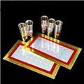 Six Cups From Two Plates - Magic Trick,Card,Satge Magic props,Magic Accessories,Gimmicks,Close-up