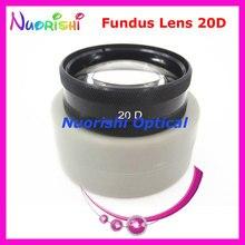 ¡20DM tan bueno como la lente Volk! Funda de plástico duro para lentes de cristal, lámpara con hendidura para Retina oftálmica, envío gratis