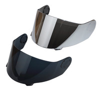 TORC T27 T27B Flip Up Motorcycle Helmet Replacement Face Shield Visor Black Silver Full Face Windproof