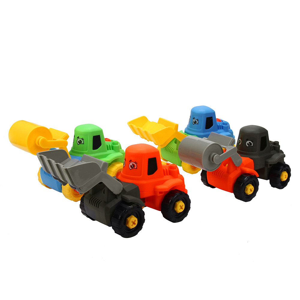 2PC Fashion Kids Child Baby Disassembly Assembly Cartoon truck Car Toy Education Toy Baby Toys & Games Children