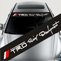 UG_ Dirk personalized car stickers front stop stickers front back rise carinthian rise red trd
