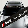 Ug _ Dirk carros personalizados adesivos autocolantes batente da frente frente para trás subir ascensão carinthian trd vermelho