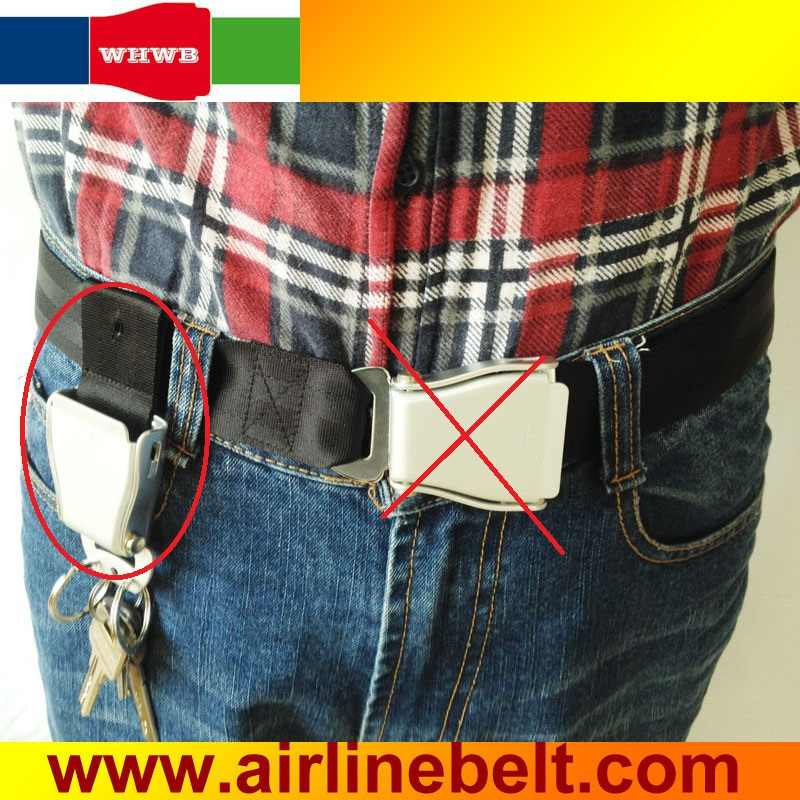 9167d1959f5271 ... Classic Aircraft seatbelt buckle Keychains Car seat belt buckle pants keychain  Airplane buckle jeans keyring ...
