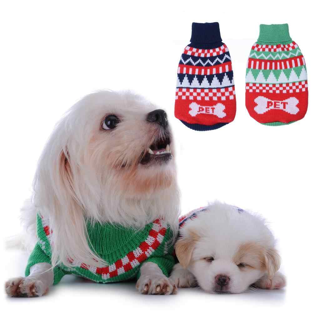 Pet Letter PET Sweater Sweater Is Elastic Neck And Chest Can Be Stretched Suitable For Small And Medium Dogs