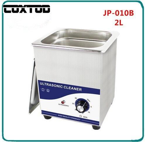 COXTOD JP 010B Ultrasonic Bath Cleaning Machine Basket Jewelry Watches Dental PCB CD Glass Ultrasound Cleaner Ultrasonic Cleaner