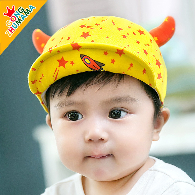 TDX C38 Free shipping Baby hat 6 - 12 months old cap baby spring and autumn  baby hat baseball cap male female child sunbonnet 4eaca60abcd7