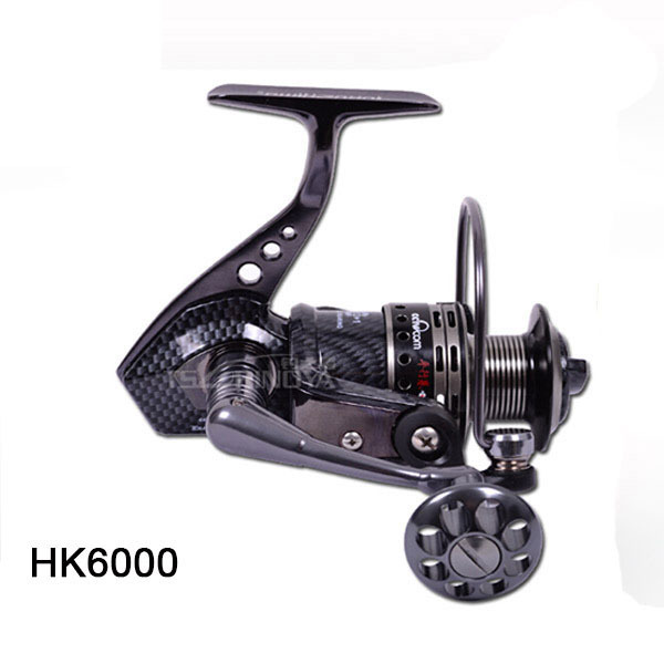 Hand Reel Fighter HK6000 14 Shaft Metal Fishing Reels Round Pole Lure Wheel Spinning Fishing Reel Carp Ice Fishing Gear 5.5:1 nunatak original 2017 baitcasting fishing reel t3 mx 1016sh 5 0kg 6 1bb 7 1 1 right hand casting fishing reels saltwater wheel