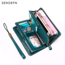 Velice prostorná dámská peněženka s kytičkou