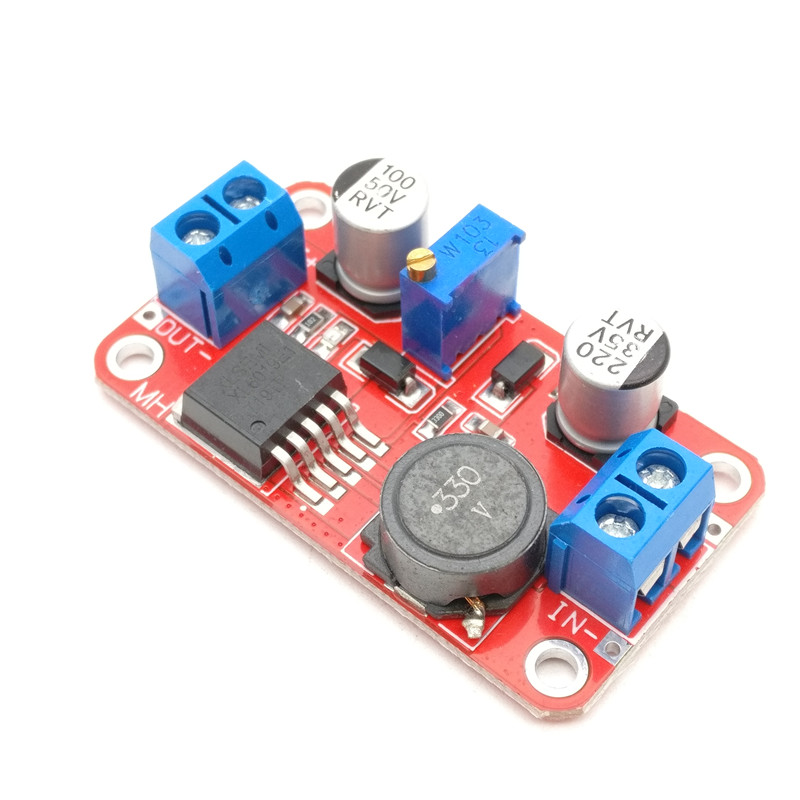 DC DC boost power supply module XL6019 voltage stabilized power supply module output 5V/12V/24V adjustable rxn 305d ii 0 30v 0 5a two circuit output cocurrent voltage stabilized source fixed output 5v 3a adjustable dc power supply