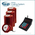 1 keyad and 30 pagers+3 chargers Waterproof Restaurant Bar Pager Slef-service restaurant Queue Number Call System