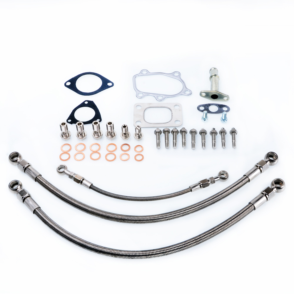 Kinugawa Turbo Oil and Water Line Kit for Nissan SR20DET