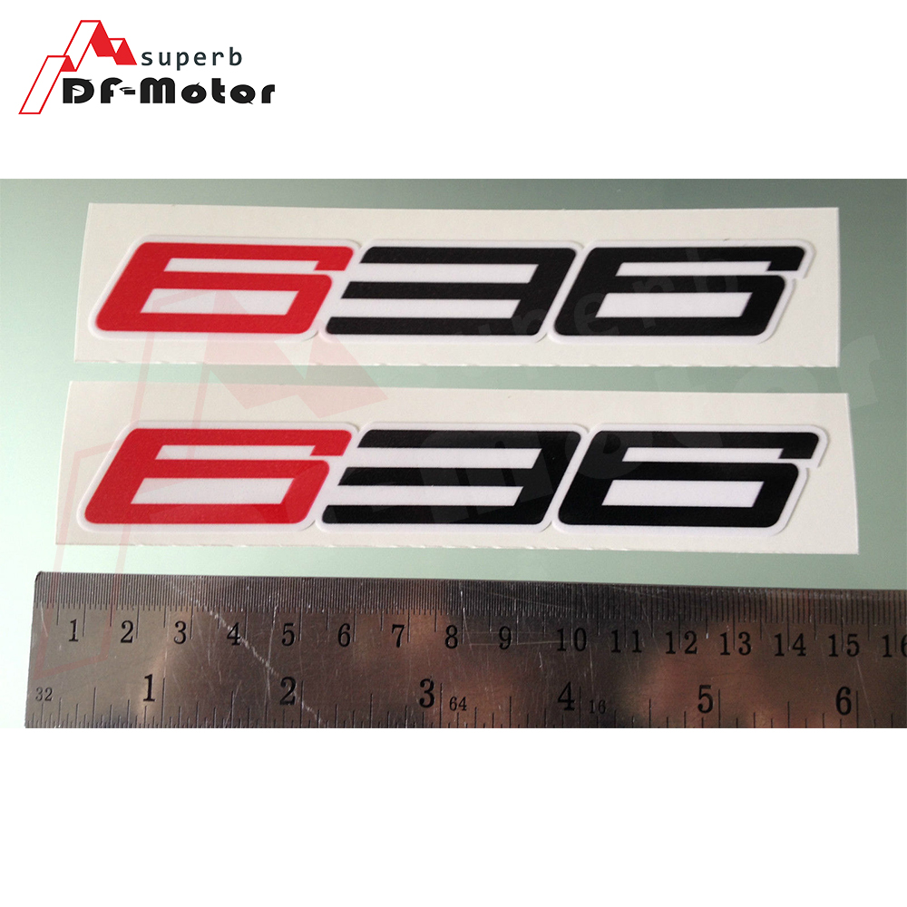 140mm X 21mm 3M Sticker 1Pair 636 Fairing Decals / Stickers For Kawasaki ZX-6R ZX6R Motorcycle Sticker Decals
