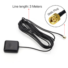 Car DVR Car Camera Dash Cam GPS Antenna car adapter mobile phone with 3M Sticker Cable GPS Receiver Module car gps antenna gps collapsible gps soleplate gps foldaway bracket dji suitable for gps folding antenna base