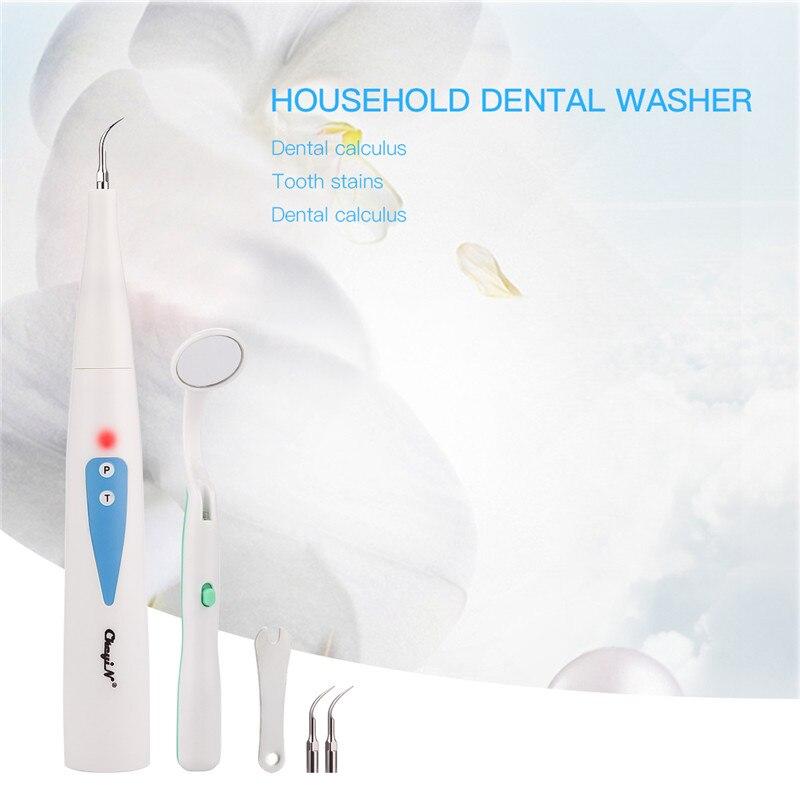 Elektryczny Sonic skaler dentystyczny zębów Calculus Remover przewodowy plamy zębów usuwanie kamienia nazębnego narzędzie do czyszczenia zębów z usta lustro 31 w Irygatory do jamy ustnej od AGD na  Grupa 1
