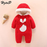 HziriP 2018 Stylish Autumn High Quality Newborn Baby Girls Hooded Clothes Infant Fresh Comfortable Bodysuit Cotton Long sleeved