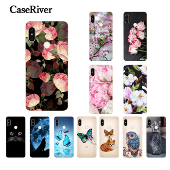 CaseRiver Xiaomi Redmi Note 5 Pro Case Cover Back Coque Redmi Note 5 Global Phone Case Soft TPU Redmi Note5 Pro Silicone Case image