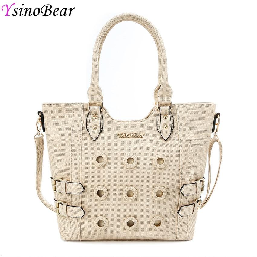 YsinoBear Luxury 2018 Women Shoulder Bags Designer Ladies Messenger Shoulder Bags Large Capacity PU Leather Tote Bags For Women