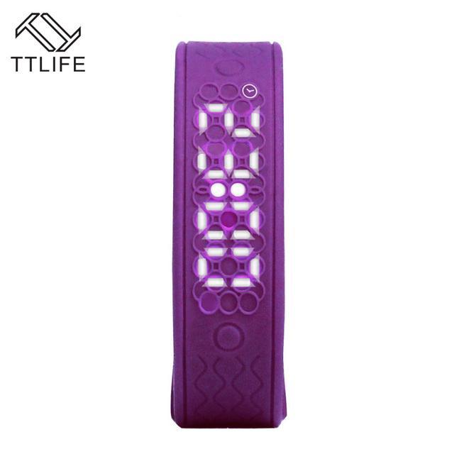 Smartband TTLIFE Marca Gimnasio Rastreador Inteligente Pulsera Pulsera Inteligente Podómetro 3D Sueño Rastreador Heart Rate Monitor Inteligente de Banda
